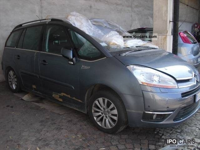 2008 citroen c4 gr picasso 2 0 hdi fap aut excl car photo and specs. Black Bedroom Furniture Sets. Home Design Ideas