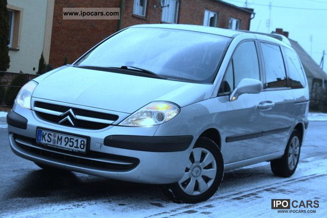 2007 citroen c8 2 0 hdi 136km navi dvd car photo and specs. Black Bedroom Furniture Sets. Home Design Ideas