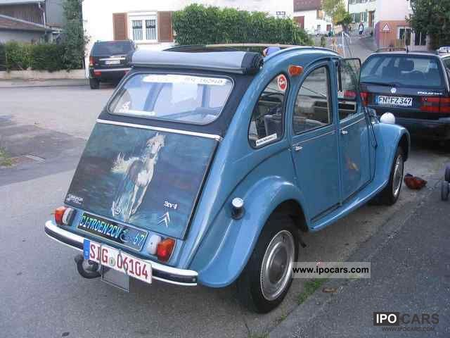 Citroen  2 CV 1967 Vintage, Classic and Old Cars photo
