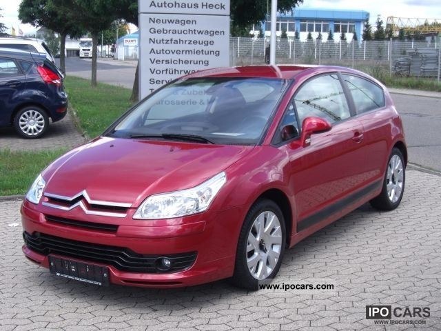 2006 citroen c4 hdi 110 fap coupe vtr plus car photo and specs. Black Bedroom Furniture Sets. Home Design Ideas