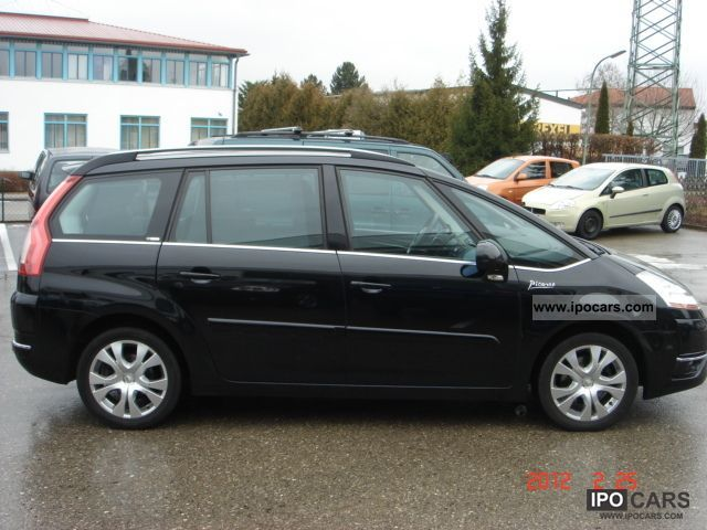 2007 citroen c4 picasso 2 0 hdi fap aut 7 seater exclusive car photo and specs. Black Bedroom Furniture Sets. Home Design Ideas