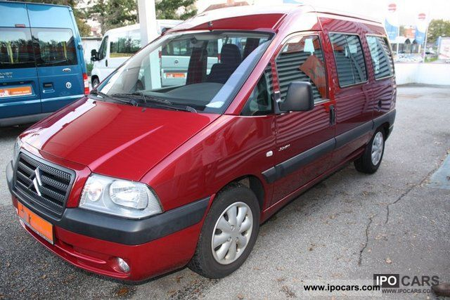 2005 Citroen  Jumpy air + heater Estate Car Used vehicle photo