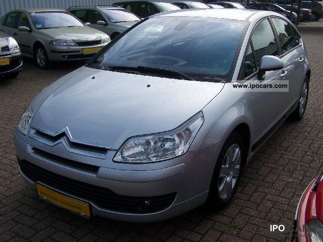 2005 citroen c4 hdi 110 fap confort car photo and specs. Black Bedroom Furniture Sets. Home Design Ideas