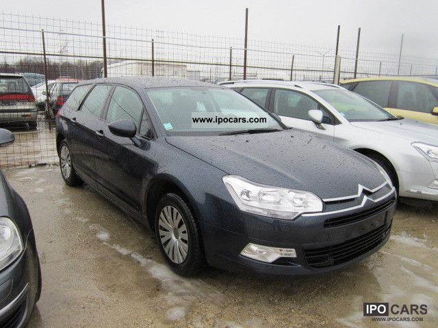 2009 citroen c5 tourer hdi 110 fap confort car photo and specs. Black Bedroom Furniture Sets. Home Design Ideas