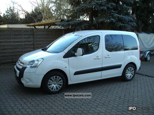 2009 citroen berlingo multispace 1 6 hdi 110 fap car photo and specs. Black Bedroom Furniture Sets. Home Design Ideas