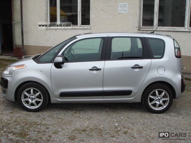 2009 citroen c3 picasso vti 120 air cruise zv 4 car photo and specs. Black Bedroom Furniture Sets. Home Design Ideas