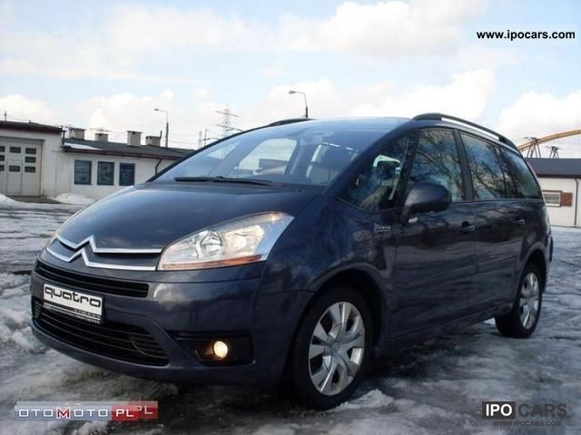 2007 Citroen  C4 Picasso climate control GAZ FP 23% VAT! Small Car Used vehicle photo