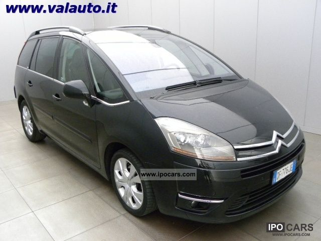 2007 citroen c4 picasso 2 0 hdi exclusive cv130 7 posti car photo and specs. Black Bedroom Furniture Sets. Home Design Ideas