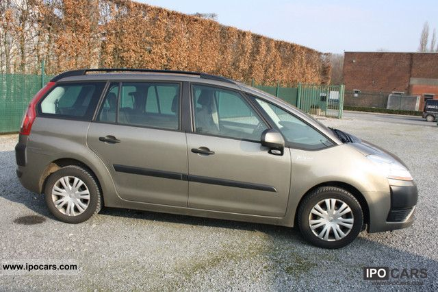 2009 citroen grand c4 picasso goworim car photo and specs. Black Bedroom Furniture Sets. Home Design Ideas
