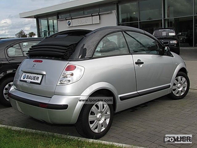 2006 citroen c3 pluriel 1 4 style power windows car photo and specs. Black Bedroom Furniture Sets. Home Design Ideas