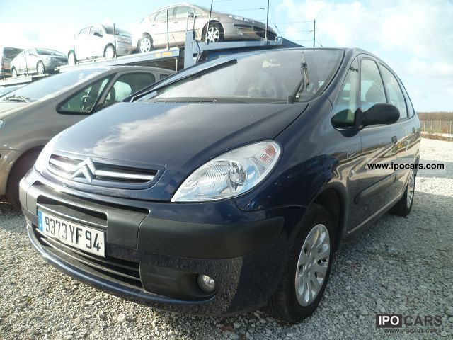2006 citroen picasso 1 6 hdi92 pack car photo and specs for Garage opel nice la plaine