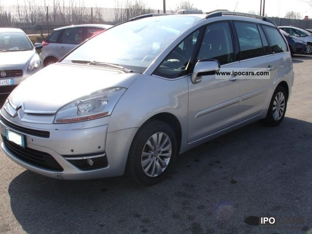 2009 citroen c4 picasso 2 0 hdi 138 fap exclusive cmp 6 car photo and specs. Black Bedroom Furniture Sets. Home Design Ideas