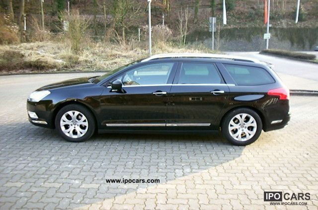 2009 citroen c5 tourer hdi 140 fap exclusive very clean car photo and specs. Black Bedroom Furniture Sets. Home Design Ideas