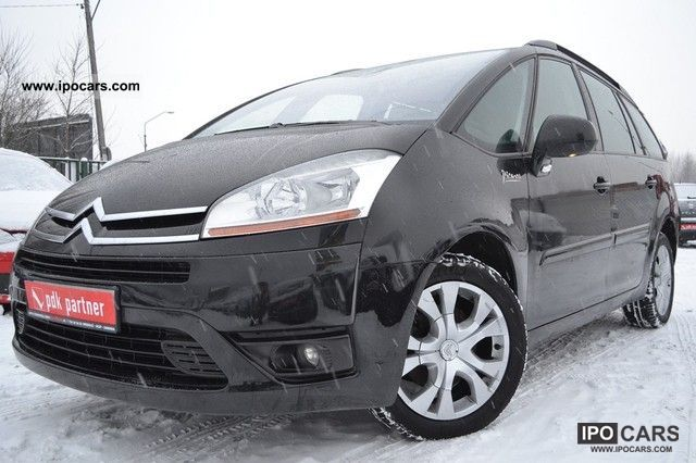 2007 citroen c4 picasso grand f ra 23 vat benzyna car photo and specs. Black Bedroom Furniture Sets. Home Design Ideas