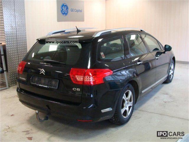 2009 citroen c5 tourer hdi 140 fap confort car photo and specs. Black Bedroom Furniture Sets. Home Design Ideas