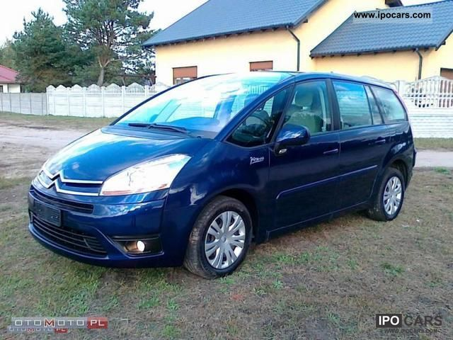 2007 citroen c4 picasso 7 grand foteli car photo and specs. Black Bedroom Furniture Sets. Home Design Ideas