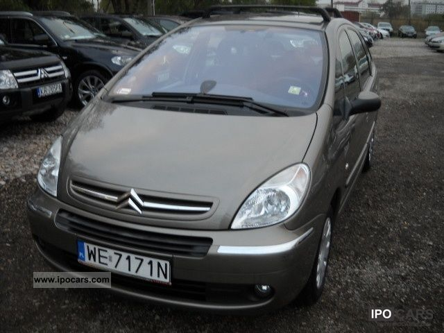 2008 citroen xsara picasso salon polska bezwypadkowy serwis car photo and specs. Black Bedroom Furniture Sets. Home Design Ideas