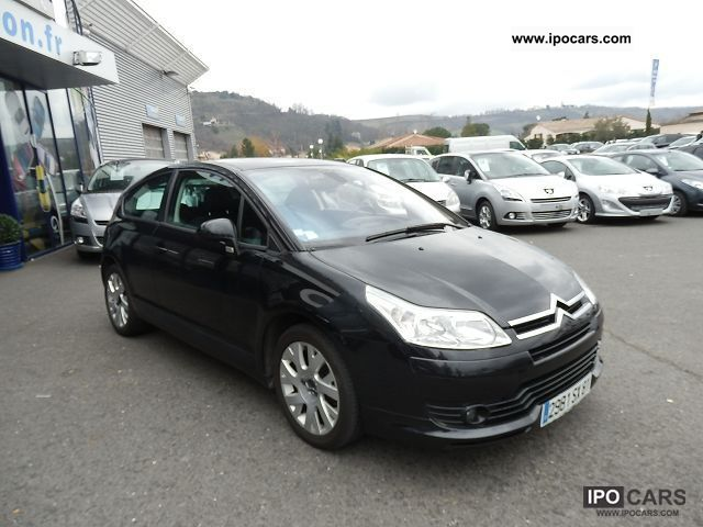 2005 citroen c4 coupe 1 6 hdi 110 pack car photo and specs. Black Bedroom Furniture Sets. Home Design Ideas