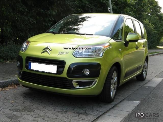 2009 citroen c3 picasso vti 95 tendance car photo and specs. Black Bedroom Furniture Sets. Home Design Ideas