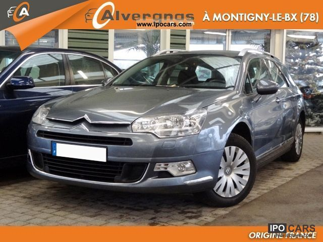 2009 citroen c5 1 6 hdi 110 fap ii tourer comfort car photo and specs. Black Bedroom Furniture Sets. Home Design Ideas