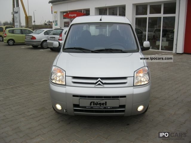 2007 Citroen  BERLINGO Multispace 1.4 Air + checkbook Van / Minibus Used vehicle photo