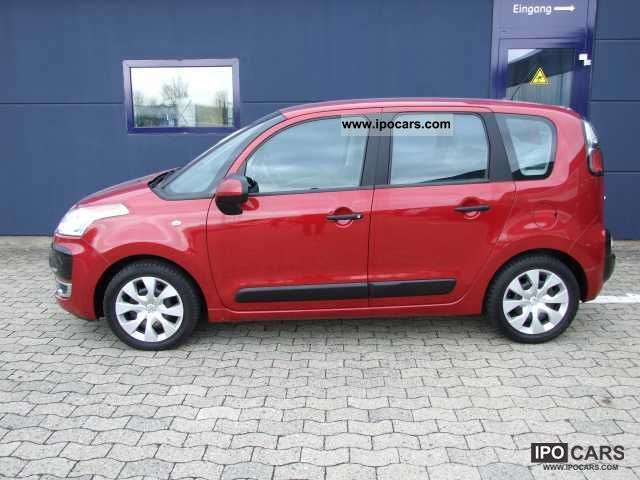 2009 citroen c3 picasso tendance 95 vti automatic climate winter car photo and specs. Black Bedroom Furniture Sets. Home Design Ideas