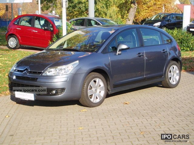 2004 citroen c4 hdi 110 fap confort car photo and specs. Black Bedroom Furniture Sets. Home Design Ideas