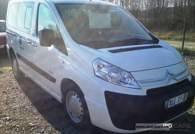 2007 citroen jumpy combi 1 6 hdi car photo and specs. Black Bedroom Furniture Sets. Home Design Ideas