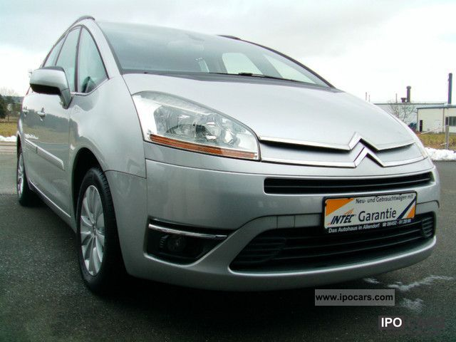 2009 citroen grand c4 picasso exclusive seater car photo and specs. Black Bedroom Furniture Sets. Home Design Ideas