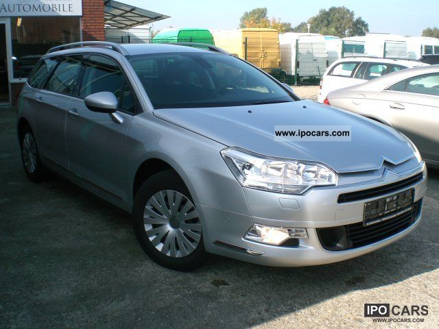 2008 citroen c5 tourer hdi 135 fap confort car photo and specs. Black Bedroom Furniture Sets. Home Design Ideas