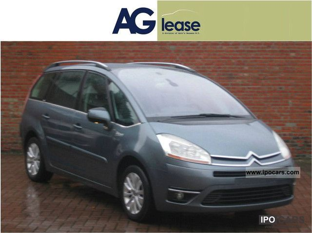 2009 citroen grand c4 picasso 1 6 hdi exclusive fap bmp egmv car photo and specs. Black Bedroom Furniture Sets. Home Design Ideas