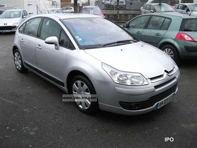 2006 citroen c4 pack ambiance hdi 110ch car photo and specs. Black Bedroom Furniture Sets. Home Design Ideas