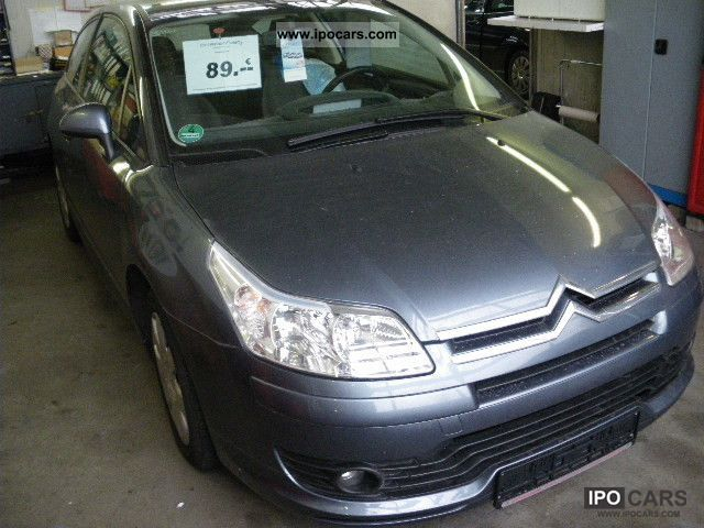 2007 citroen c4 hdi 110 vtr coup car photo and specs. Black Bedroom Furniture Sets. Home Design Ideas