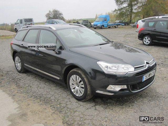2008 citroen c5 tourer hdi 110 fap gps business car photo and specs. Black Bedroom Furniture Sets. Home Design Ideas