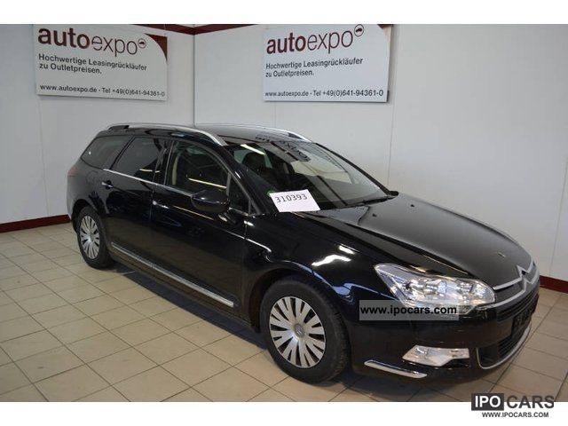 2008 citroen c5 tourer hdi 135 fap exclusive automatic air conditioning car photo and specs. Black Bedroom Furniture Sets. Home Design Ideas