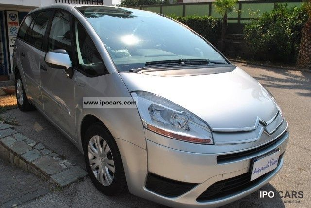 2008 citroen grand picasso c4 picasso 1 6 hdi 110 fap cl car photo and specs. Black Bedroom Furniture Sets. Home Design Ideas