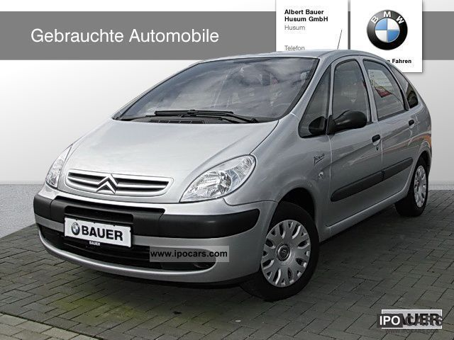 2006 citroen xsara picasso 1 6 hdi 90 confort air car photo and specs. Black Bedroom Furniture Sets. Home Design Ideas