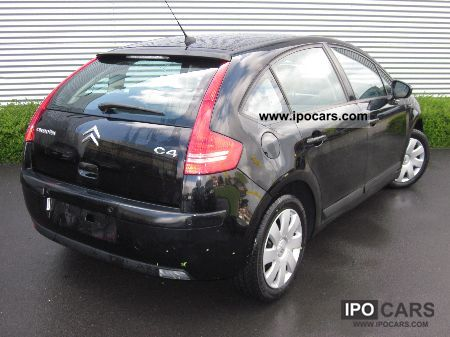 2010 citroen c4 1 4 16v tonic car photo and specs. Black Bedroom Furniture Sets. Home Design Ideas