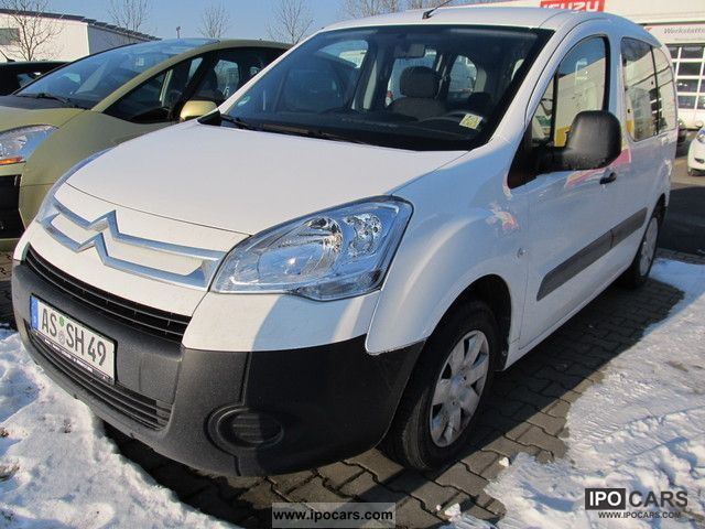 2009 citroen berlingo hdi 75 advance car photo and specs. Black Bedroom Furniture Sets. Home Design Ideas