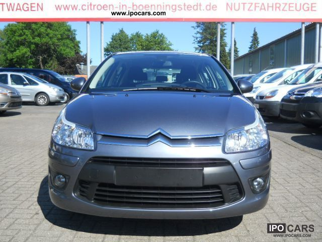 2010 citroen c4 vti 120 c including tonic chic package car photo and specs. Black Bedroom Furniture Sets. Home Design Ideas