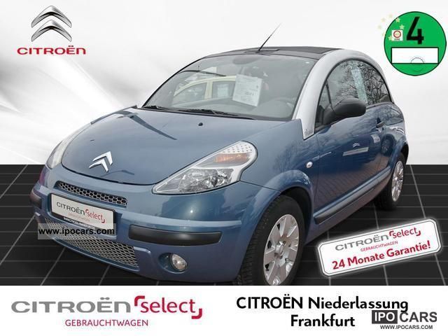 2008 Citroen  C3 Pluriel 1.4 Style Climate control Cruise control Cabrio / roadster Used vehicle photo