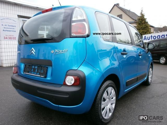 2010 citroen c3 picasso vti 95 like new climate cruise control car photo and specs. Black Bedroom Furniture Sets. Home Design Ideas