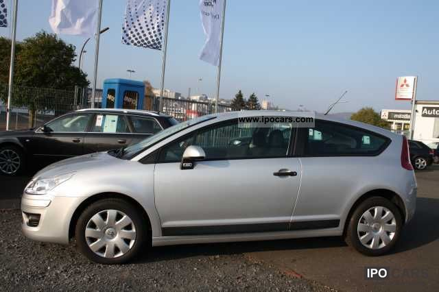 2010 citroen c4 coupe vti 120 10tkm only tonic car photo and specs. Black Bedroom Furniture Sets. Home Design Ideas