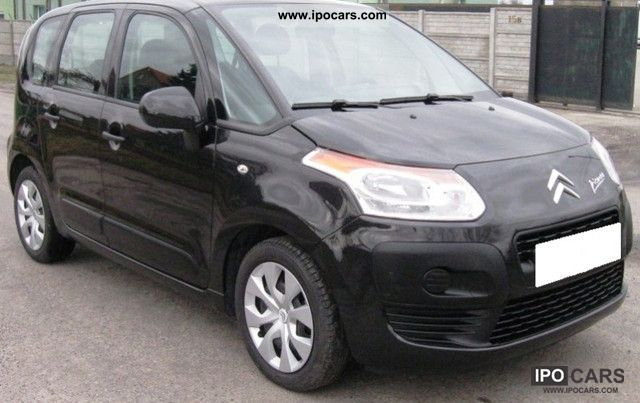 2009 citroen c3 picasso hdi 90 fap air conditioning car photo and specs. Black Bedroom Furniture Sets. Home Design Ideas