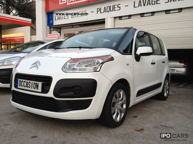 2009 citroen c3 picasso hdi 90 airdream confort car photo and specs. Black Bedroom Furniture Sets. Home Design Ideas