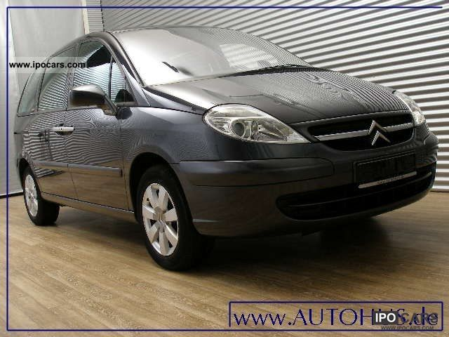 2007 citroen c8 2 0 hdi fap 7 seater pdc car photo and specs. Black Bedroom Furniture Sets. Home Design Ideas