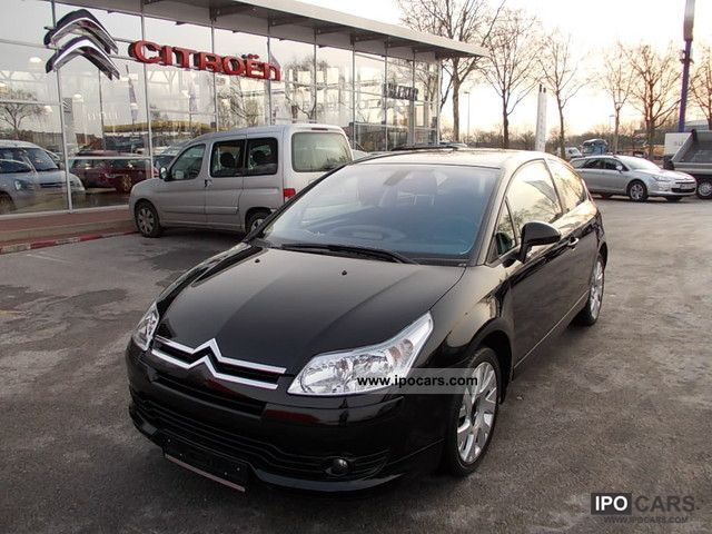2008 citroen c4 coup hdi 110 vtr plus car photo and specs. Black Bedroom Furniture Sets. Home Design Ideas