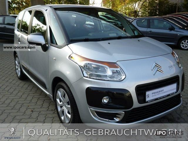 2010 citroen c3 picasso tendance vti 95 air car photo and specs. Black Bedroom Furniture Sets. Home Design Ideas