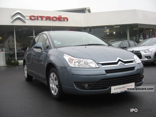 2007 citroen c4 hdi 110 fap confort car photo and specs. Black Bedroom Furniture Sets. Home Design Ideas