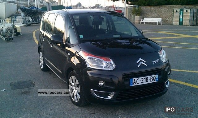 2009 citroen c3 picasso hdi confort plus 90 car photo and specs. Black Bedroom Furniture Sets. Home Design Ideas